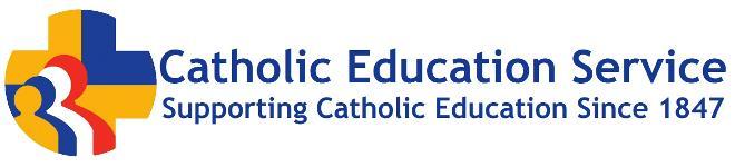 Catholic education service logo